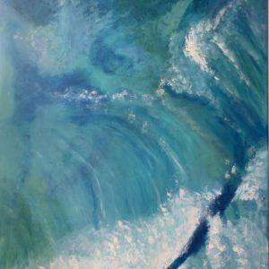"""Bild """"Meereswogen"""""""