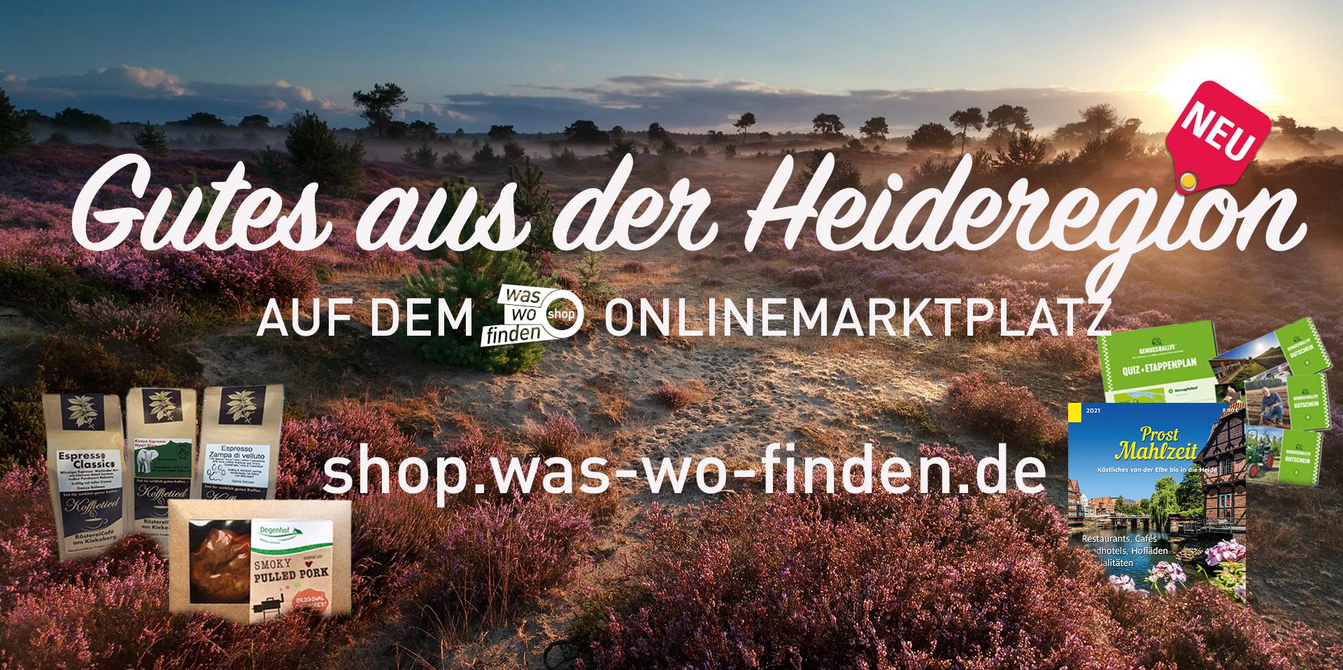 Produkte aus der Lüneburger Heide